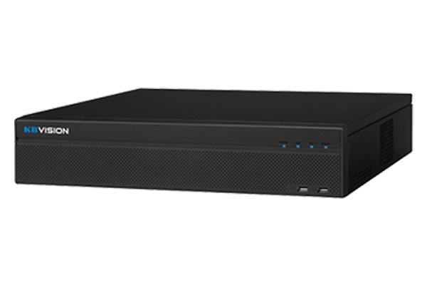 Đầu ghi KBVISION KX-4K8864N2 64 kênh IP 12Mp, 8 SATA, 1 eSATA, HDMI/VGA, iCloud, QR code, Onvif