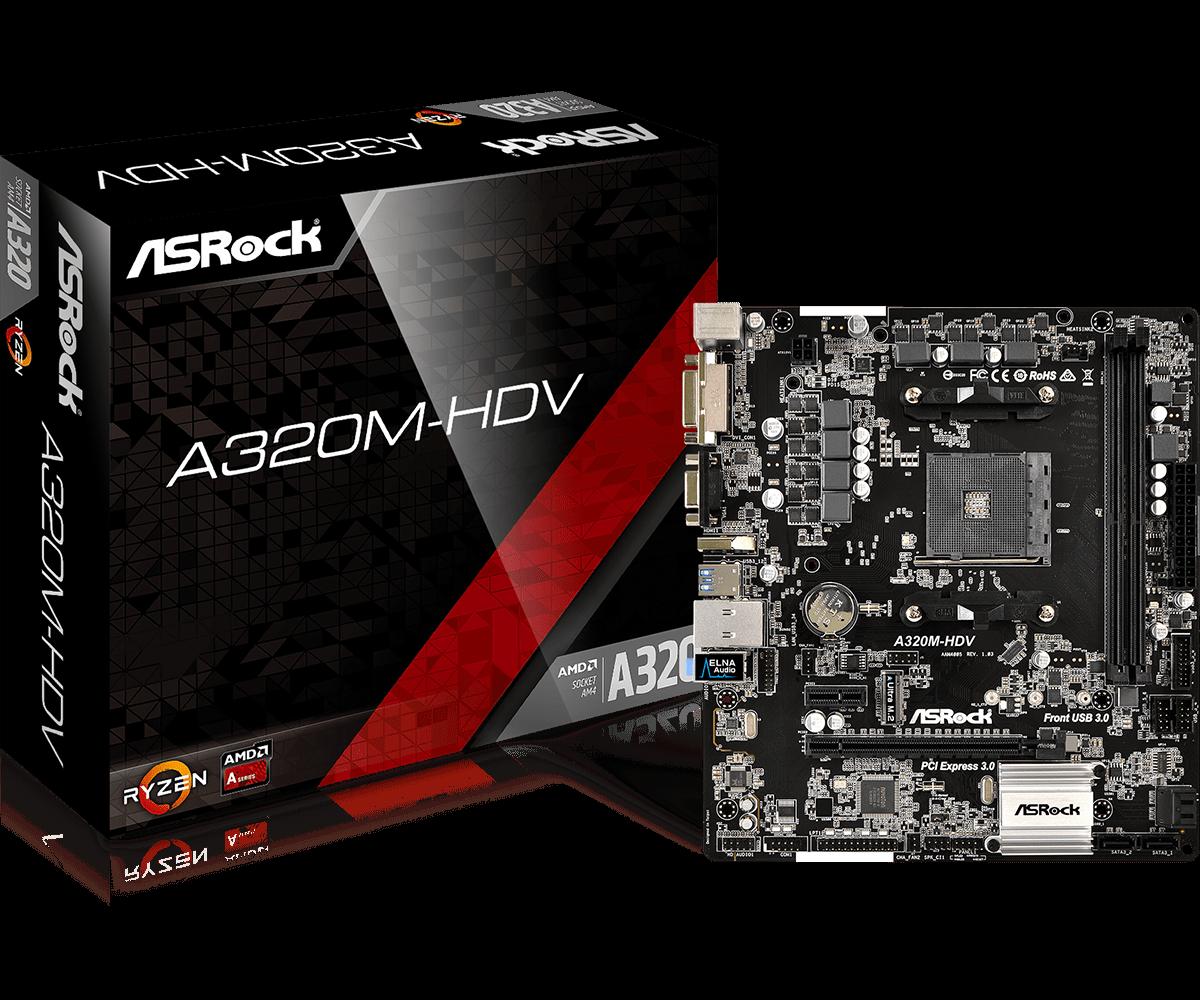 Asrock B350M-Pro4 Socket AM4