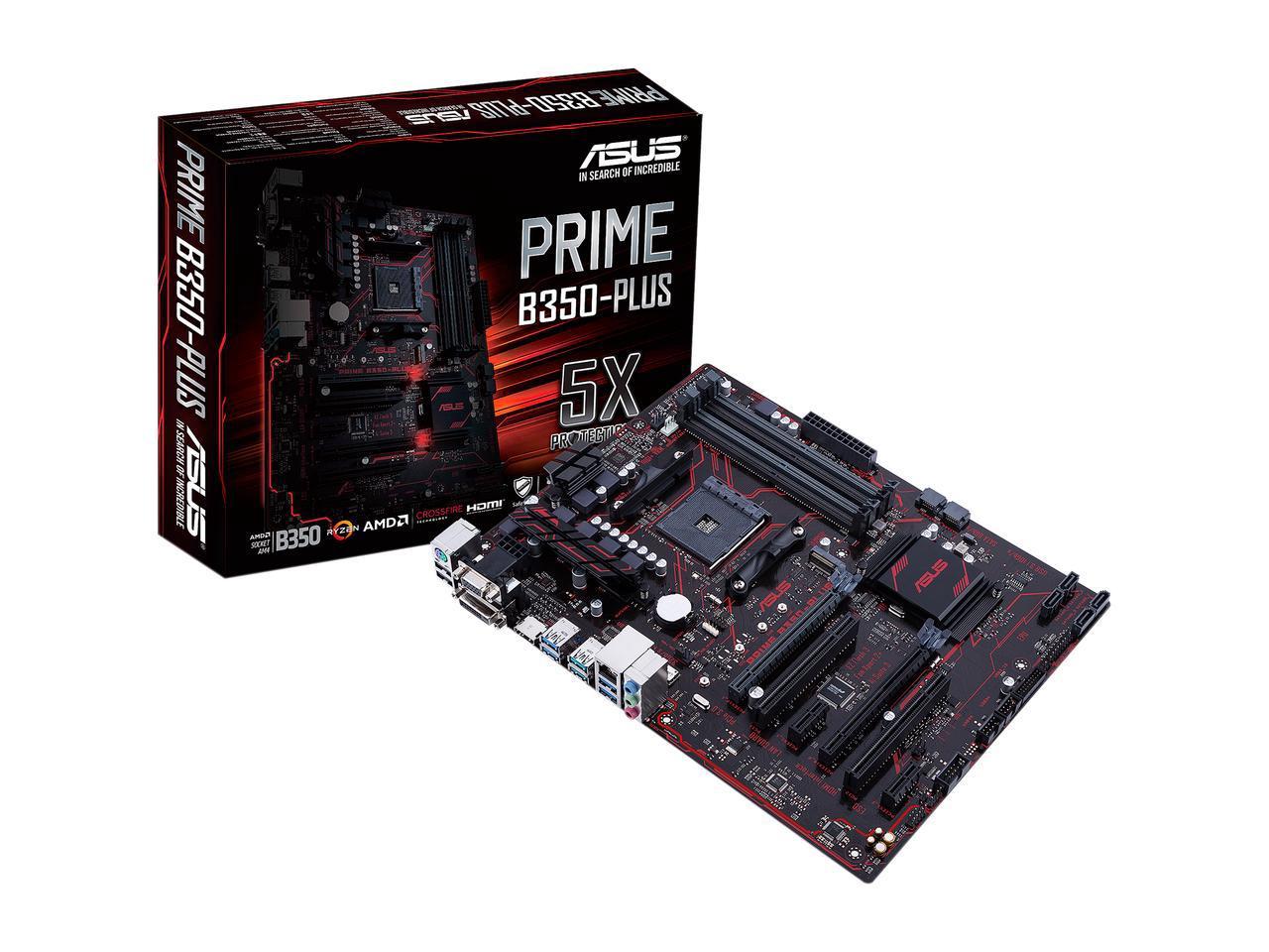 Asus B350 Prime Plus - Socket Am4