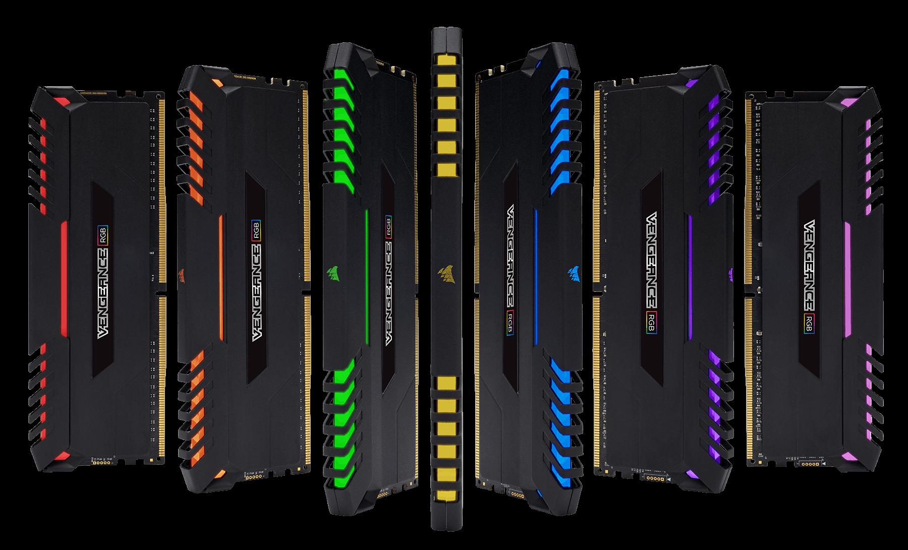 CORSAIR VENGEANCE RGB 16GB(2X8GB) DDR4 BUS 3000 CAS 15