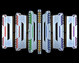 CORSAIR VENGEANCE RGB 16GB(2X8GB) DDR4 BUS 3000 CAS 15 - WHITE