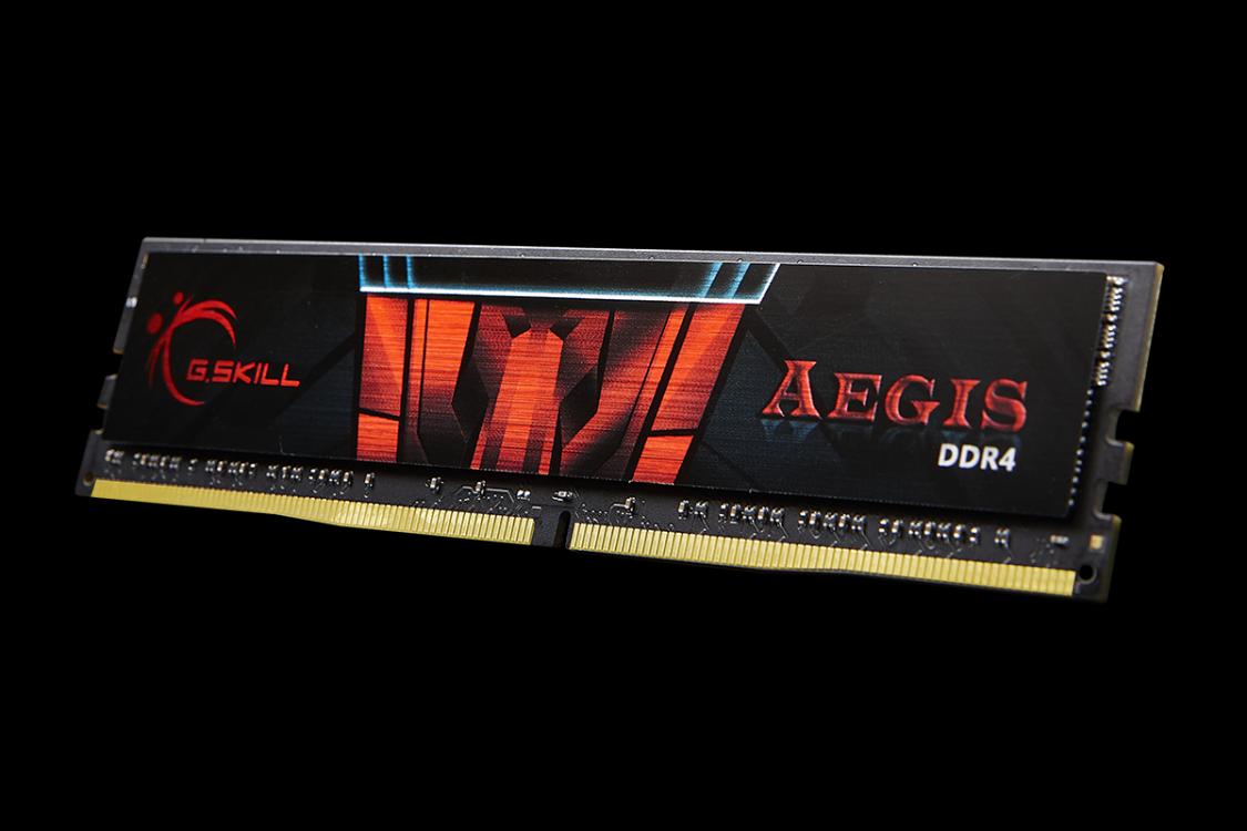 GSKILL AEGIS 4GB ( 1X4GB ) BUS 2400 CAS 15 - DDR4