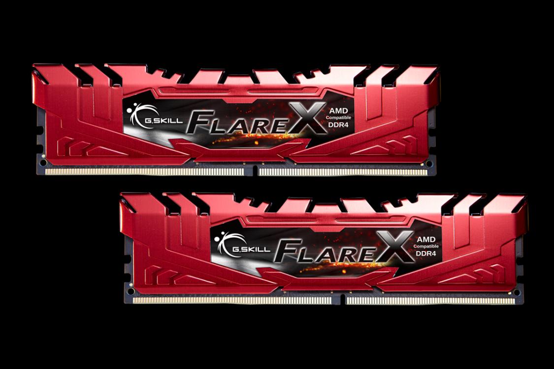 G.SKILL FLAREX 32GB ( 2X16GB) F4-2400C15D-32GFXR - DDR4