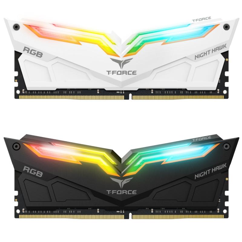 Team T-Force Night Hawk RGB Kit 16GB (2x8GB) - DDR4 - Buss 3000