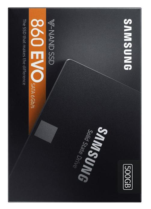 SAMSUNG 860 EVO 500GB TRUE SPEED - SATA3 SSD