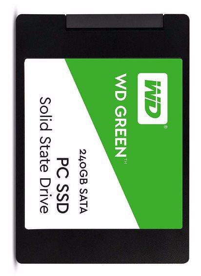 WESTERN DIGITAL GREEN 240GB- SATA3 SSD