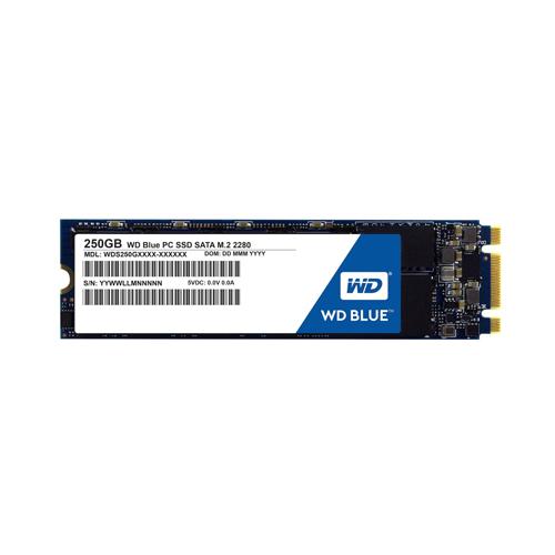 WESTERN DIGITAL BLUE M.2 2280 250GB - M2 SATA3 SSD