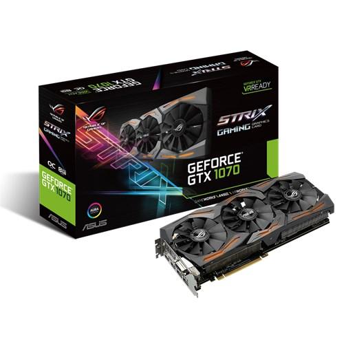ASUS NVIDIA GTX 1070 STRIX 8GB GAMING ( 256 BIT ) DDR5