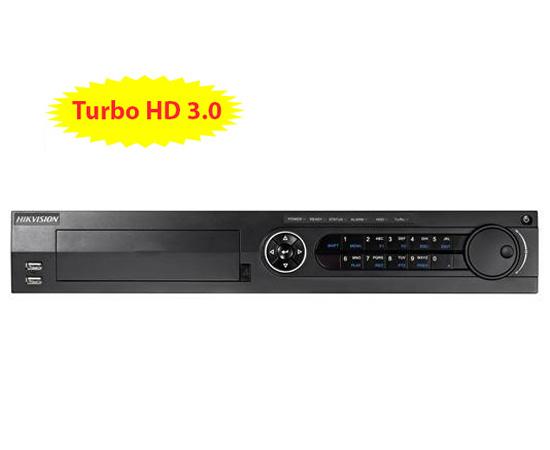 Đầu ghi hình HIKVISION DS-7316HQHI-F4/N 16 kênh HD 3MP, 4 sata, add 2 camera IP, Alarm, H.264+
